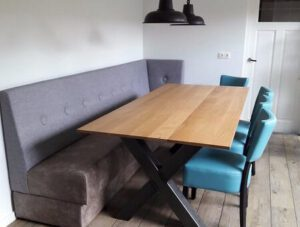 houten eettafelbank